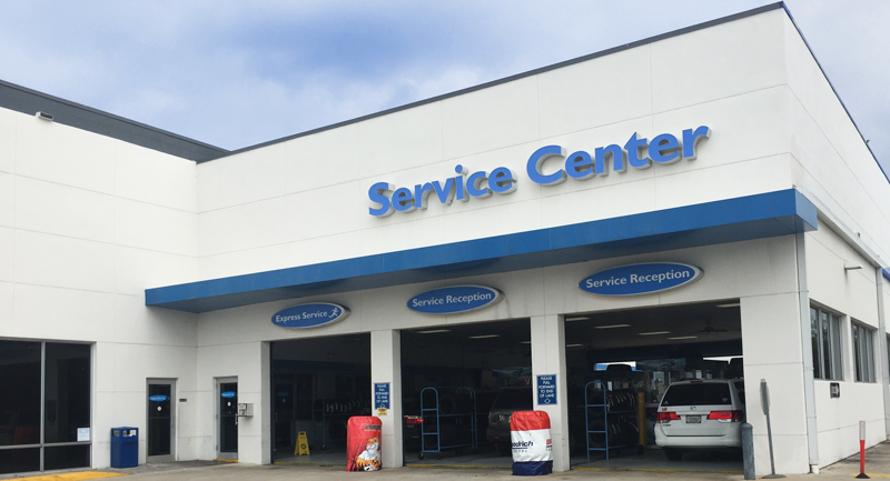 Why service with us auto repair service in riviera west for Honda dealership west palm beach
